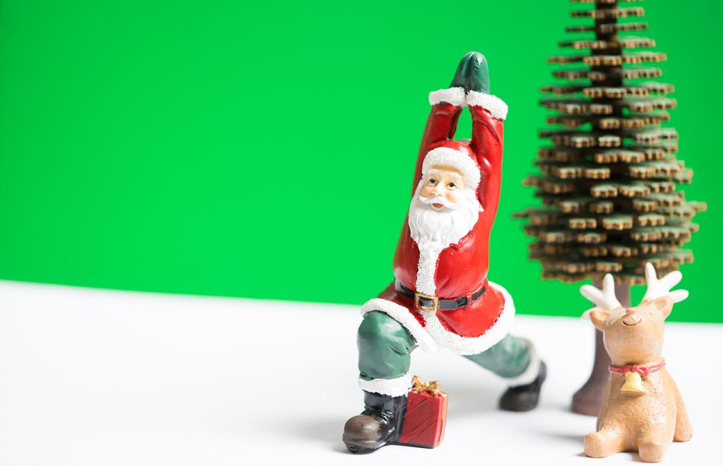 クリスマスヨガ